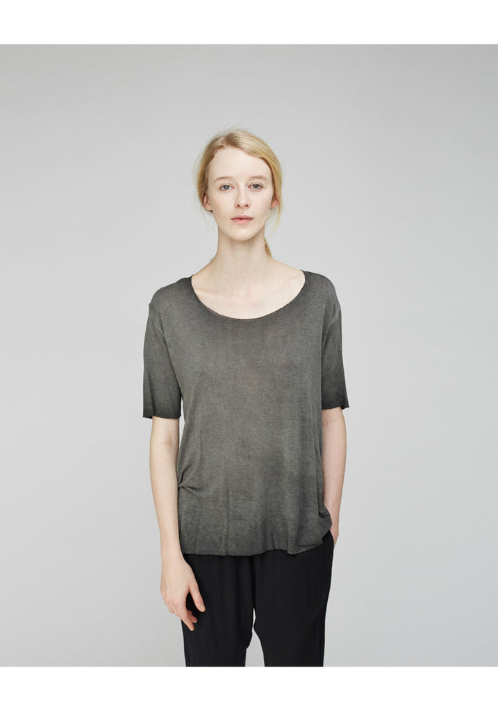 Raw Edged Boxy Tee