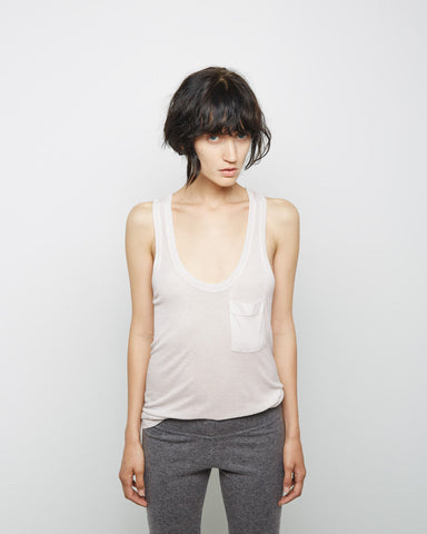 Ribbed Pocket Tank
