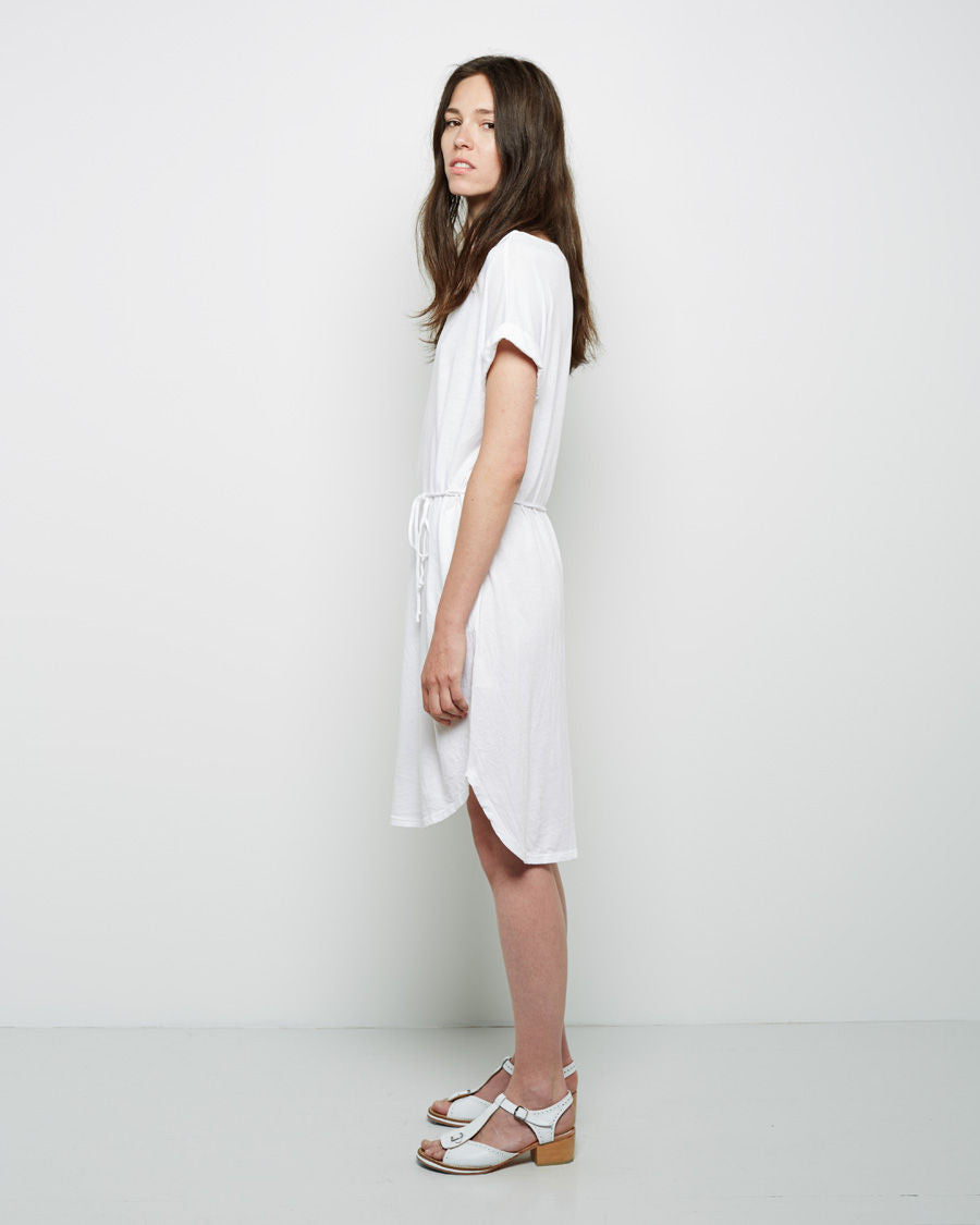 Roll Sleeve Dress