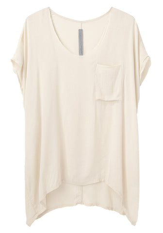 Sleeveless Boxy Tee