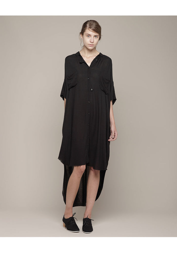 Twill Poet Dress