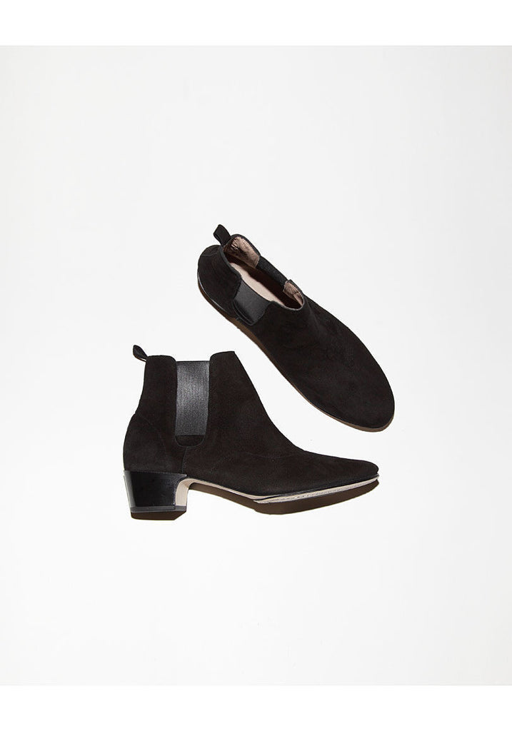 Ankle Boots W/ Side Elastics