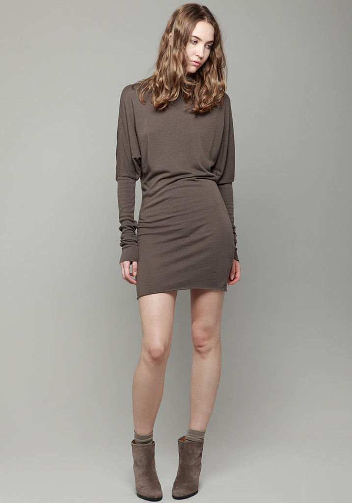 Turtleneck Tunica Dress