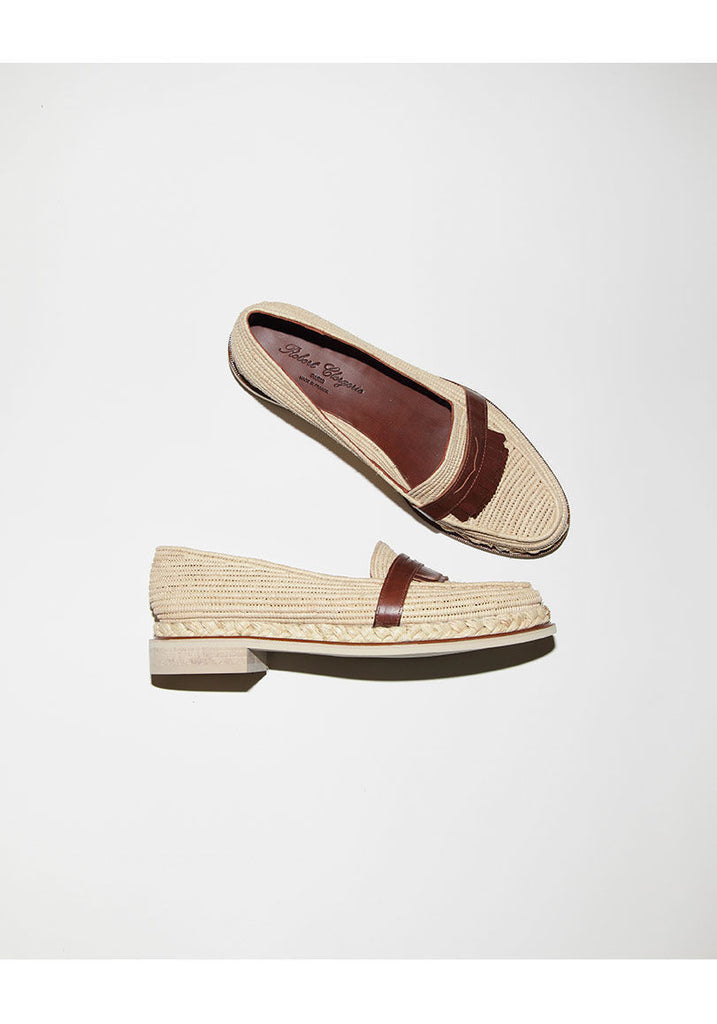 Jamex Rafia Loafer