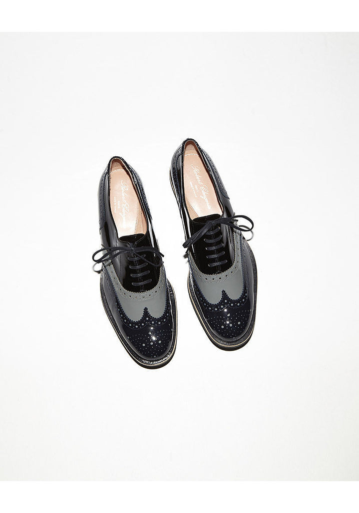 Wilma Patent Wingtip Oxford