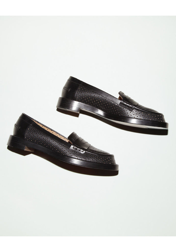 Laser Cut Penny Loafer