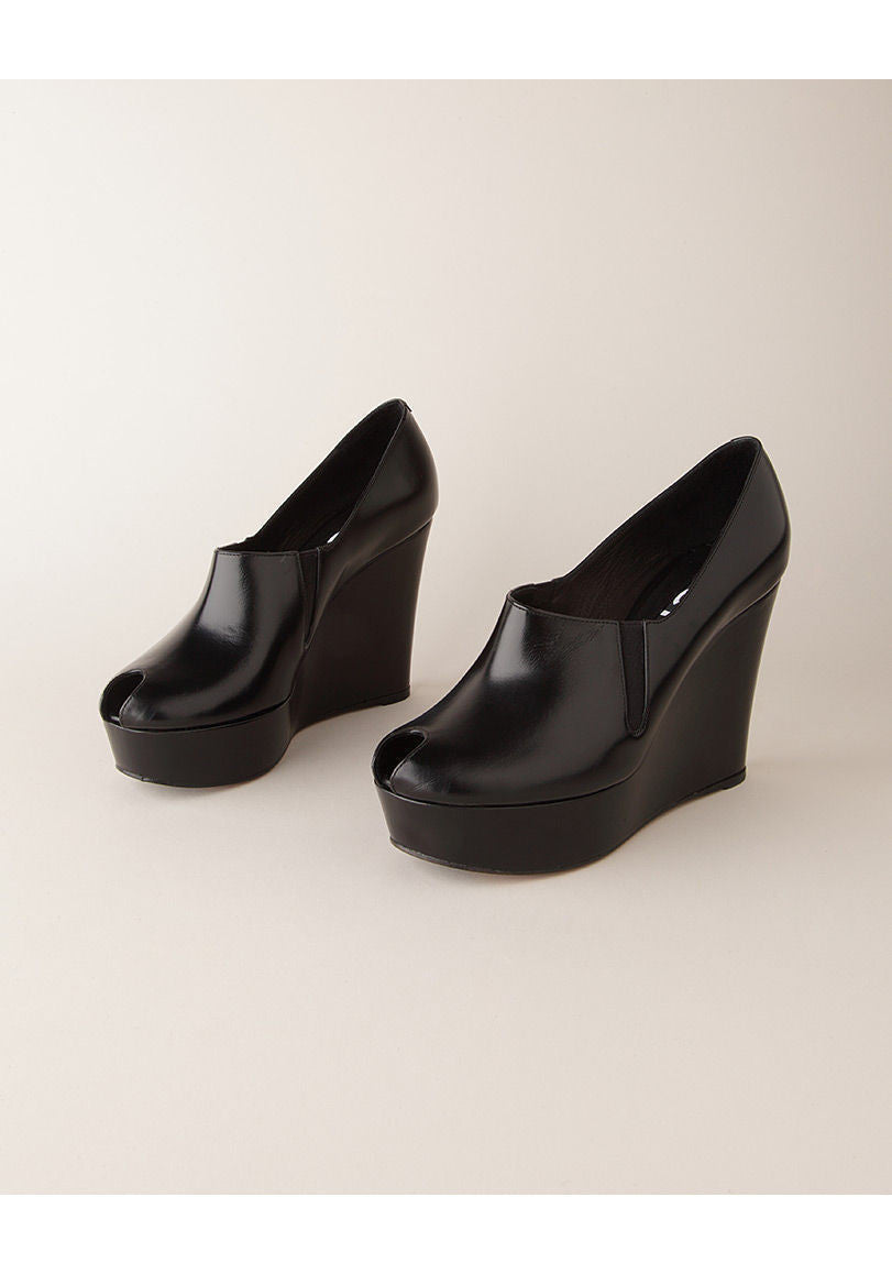 Slip-On Platform Wedge