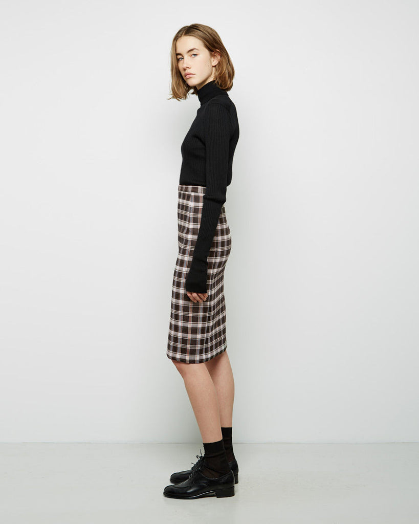 Silas Check Skirt