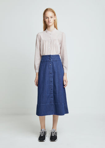 Knight Denim Skirt