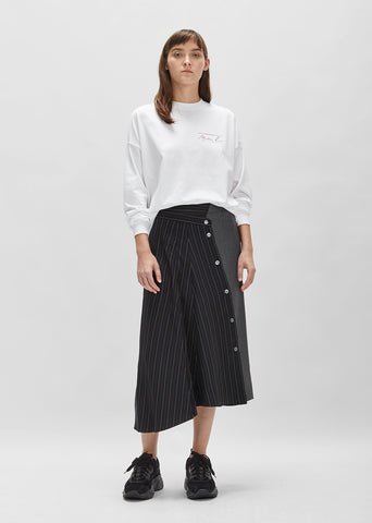 Cupro Wool Skirt