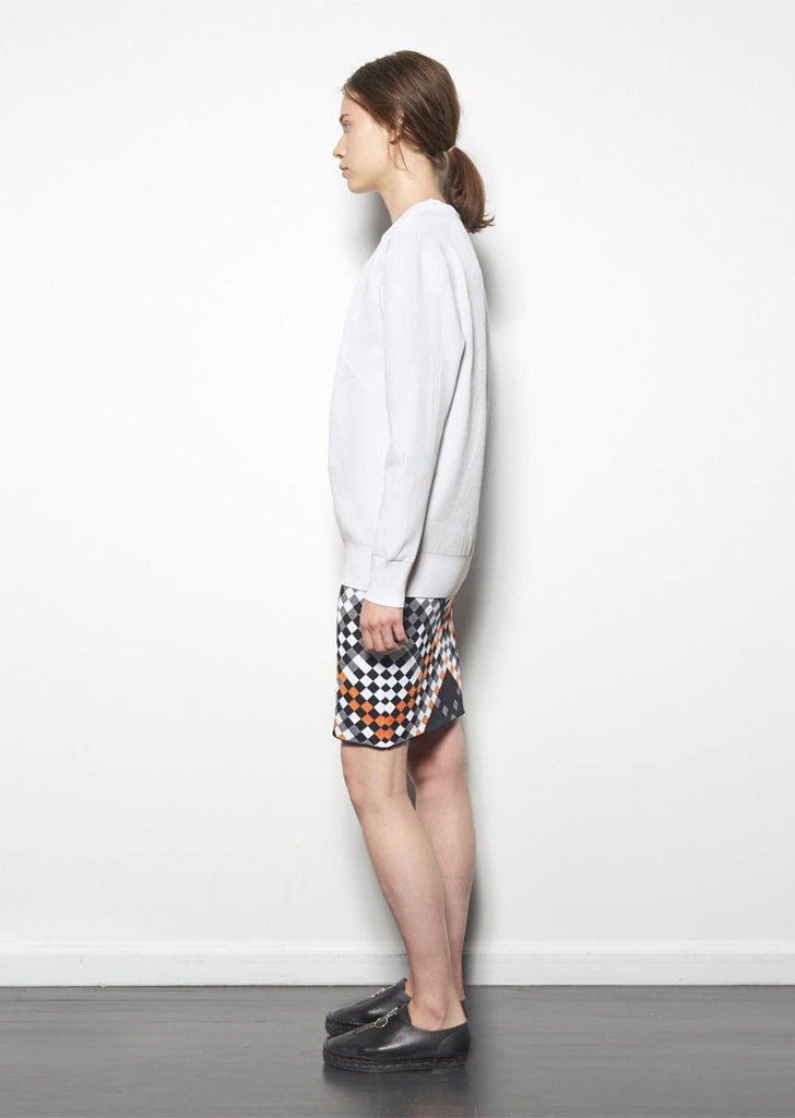 Optical Mesh Pullover