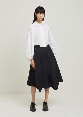 Polyester Twill Garment Treated Skirt