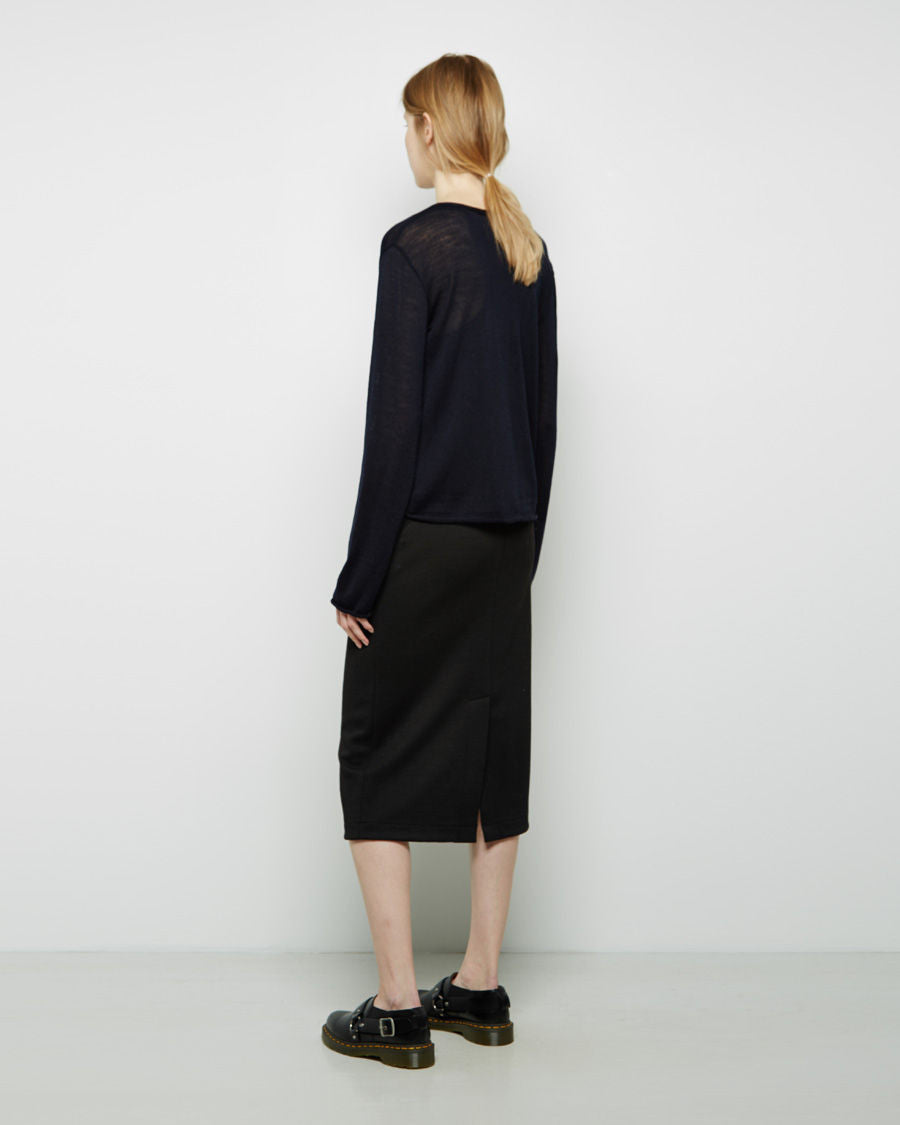 Slim Pull-On Skirt