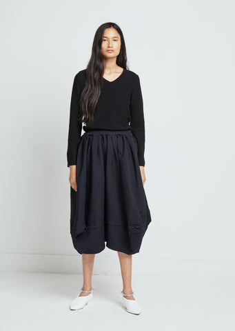 Polyester Serge Garment Treated Skirt