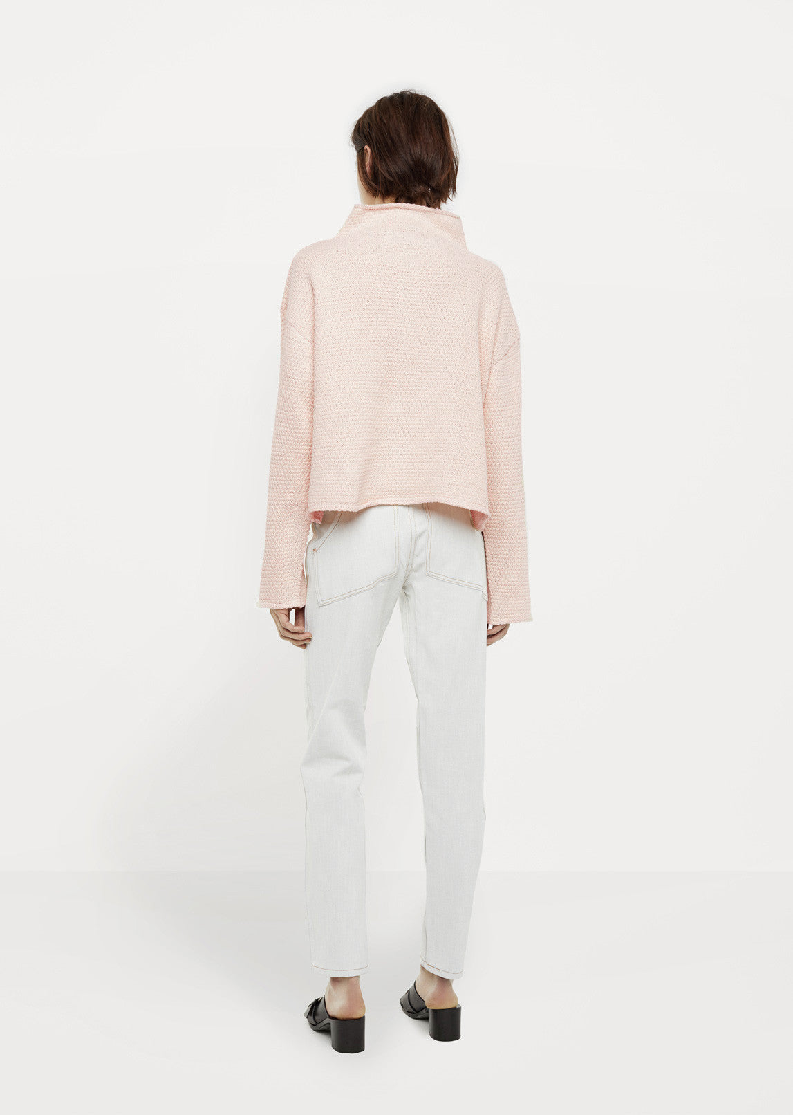 Cropped Dolman Sweater