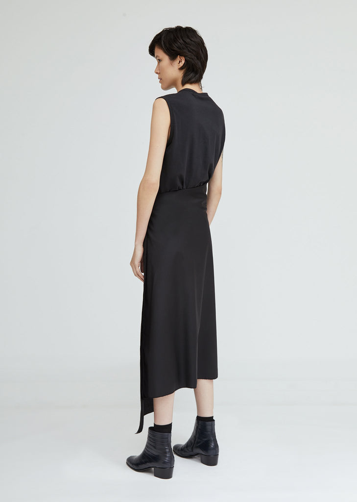 Loro Piana Asymmetrical Long Skirt