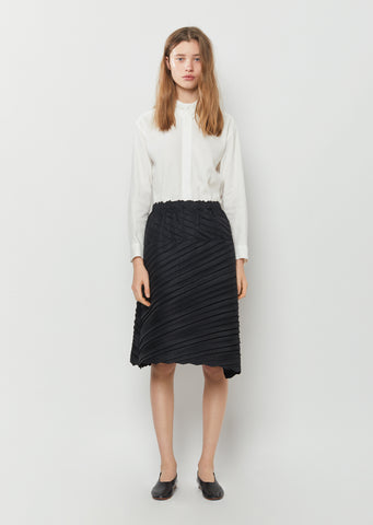 Square Pleats Skirt