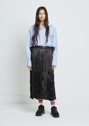 Polyester Satin Skirt