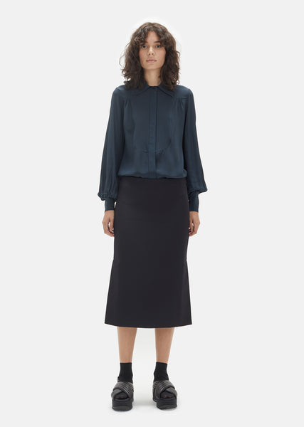 Technical Gabardine Skirt