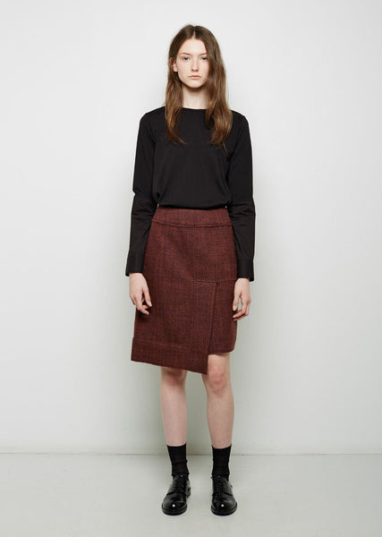 Marni Wool Tweed Skirt La Garconne