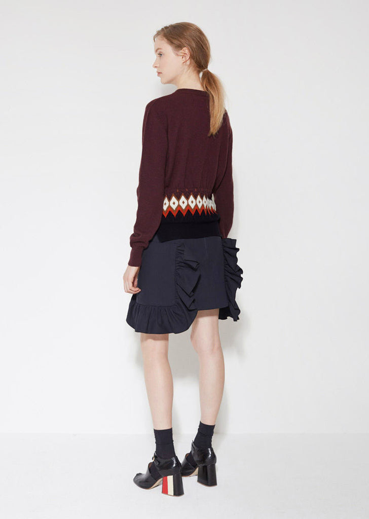 Ruffle Pocket Skirt