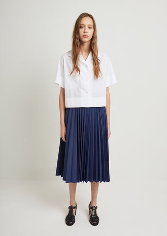 Sunray Pleat Skirt