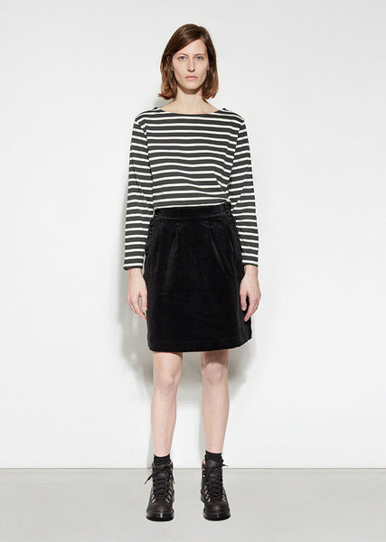 MHL by Margaret Howell Side Button Skirt La Garconne