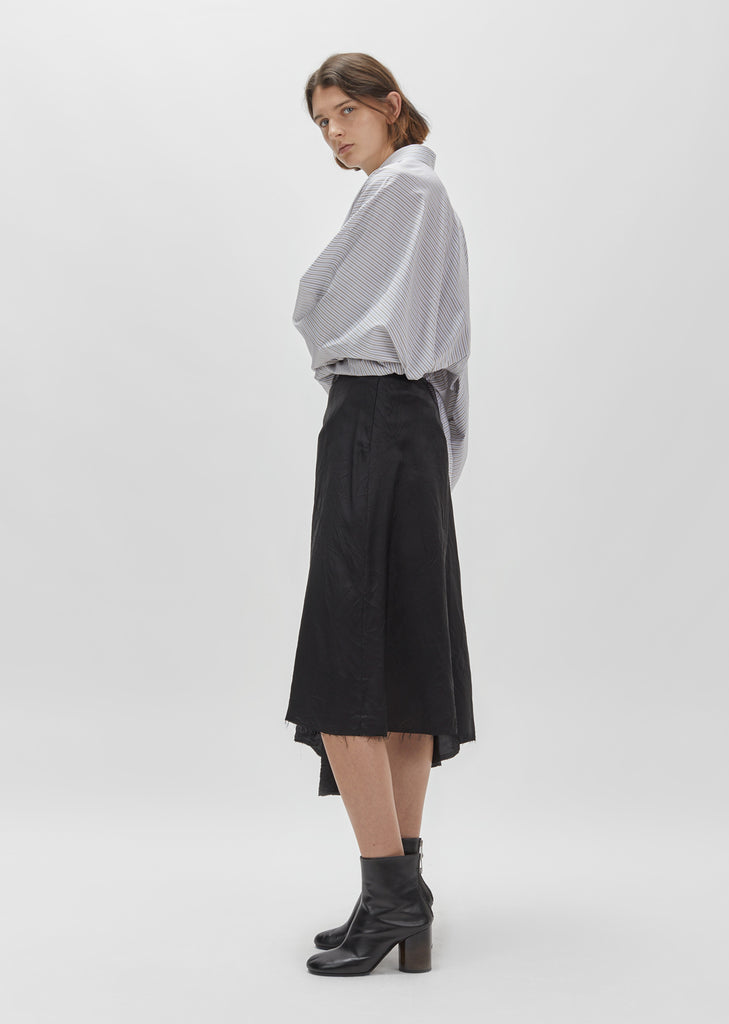 Bias-Cut Midi Skirt