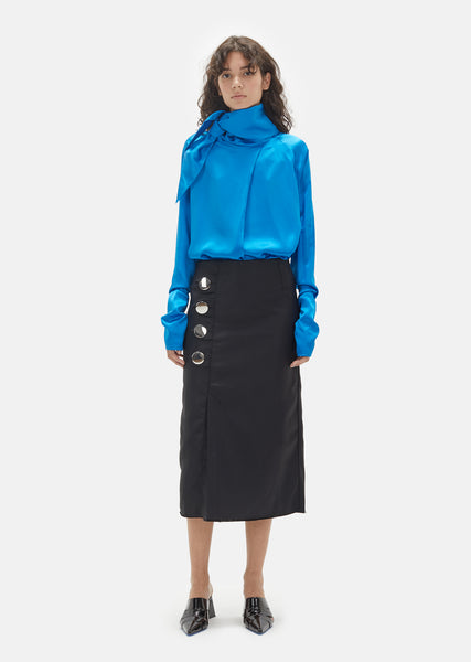 Drill Pencil Skirt