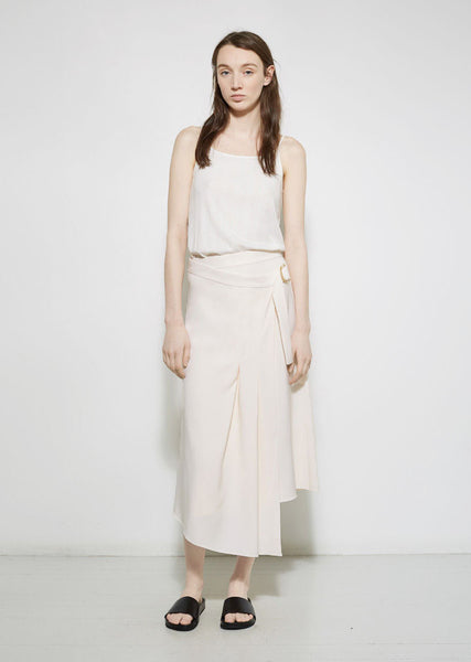 M MARTIN Cady Pleated Skirt La Garconne