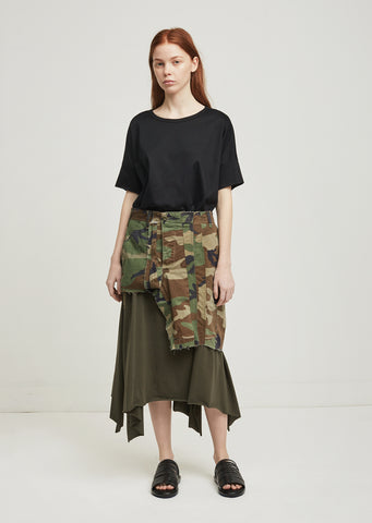 Custom Remake Camo Skirt