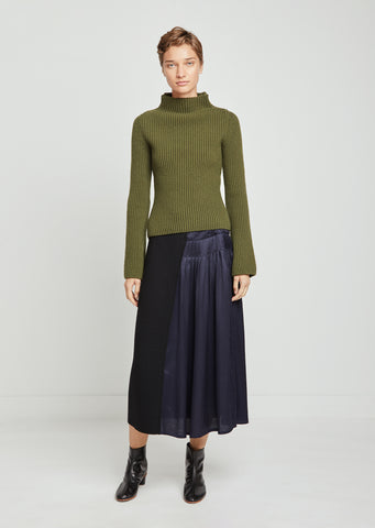 Sally Wool Jersey Skirt