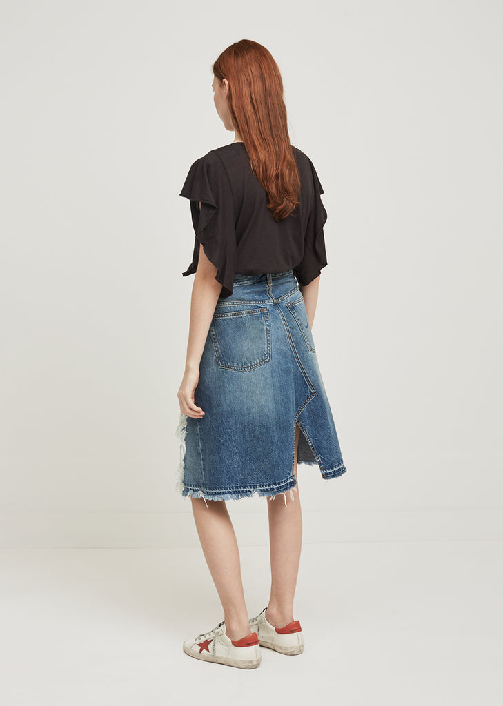 Norbury Short Denim Skirt