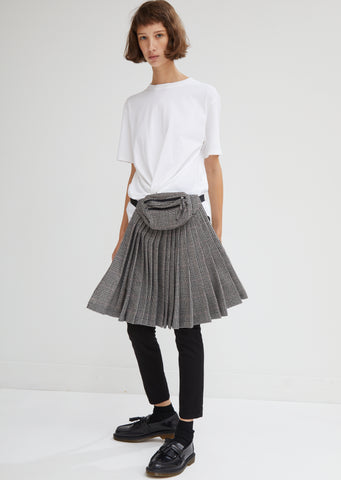 Pleated Panel With Fanny Pack