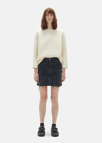 x Levi's High Waisted Mini Skirt