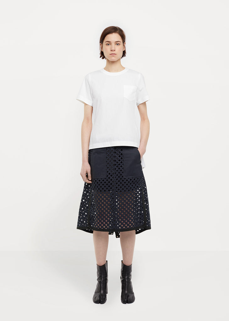 Glen Check Skirt