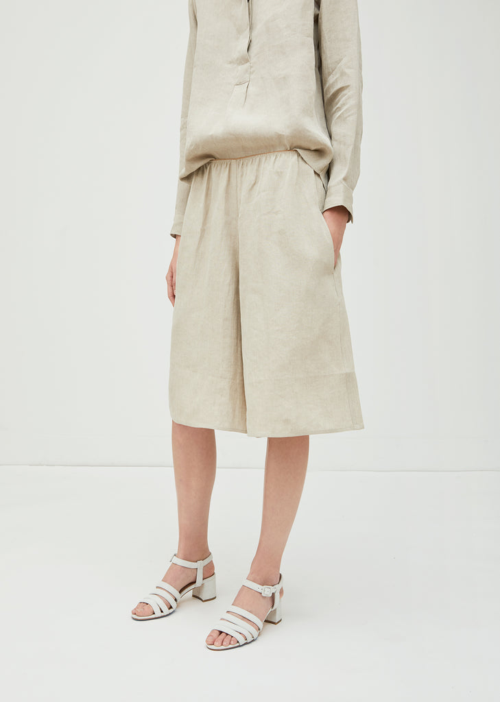 Parade Linen Cropped Pant