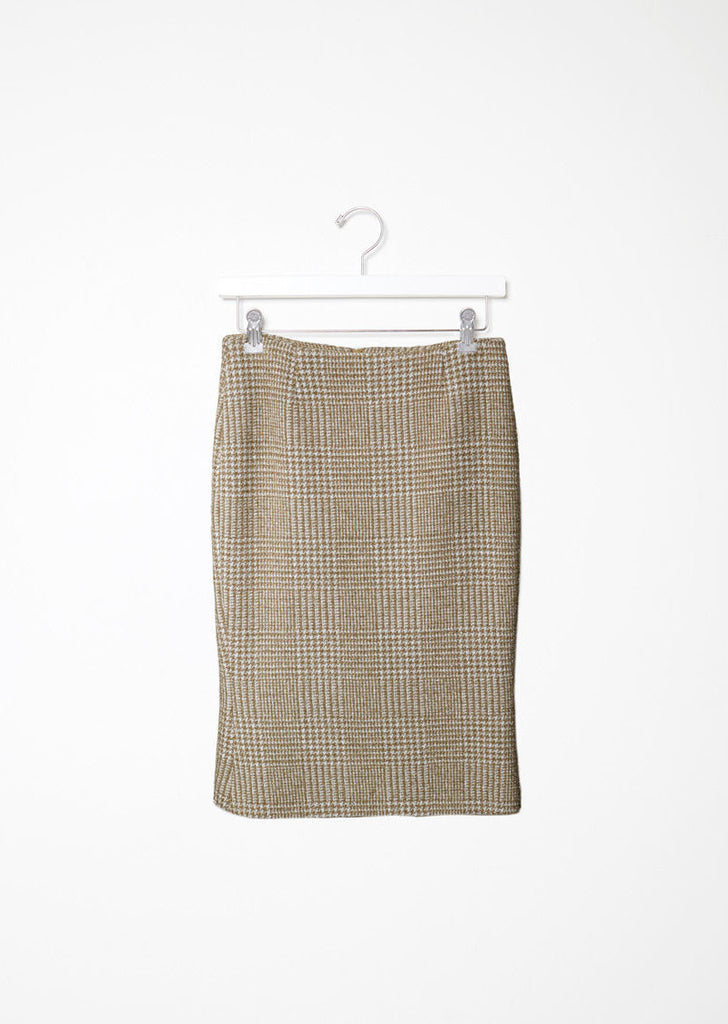 Sparkle Houndstooth Skirt