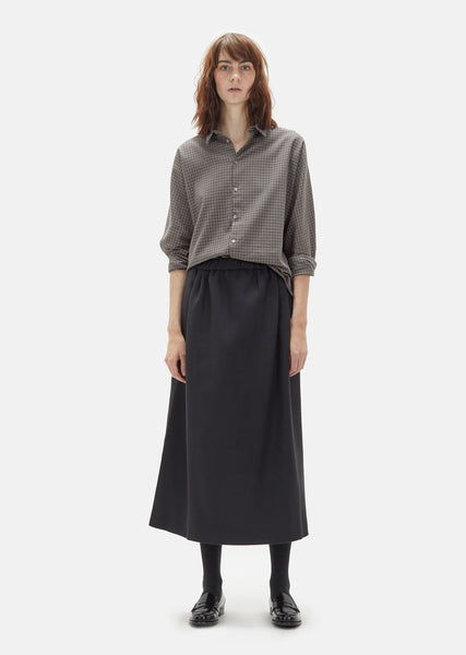 Timepiece Wool Skirt