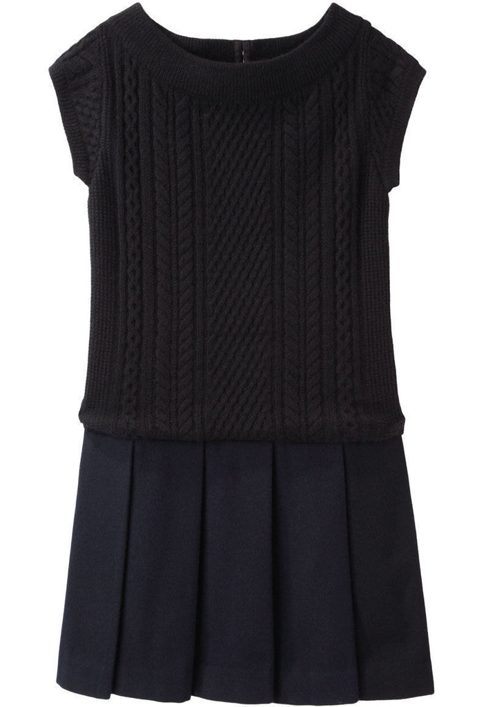 Combo Sweater Dress