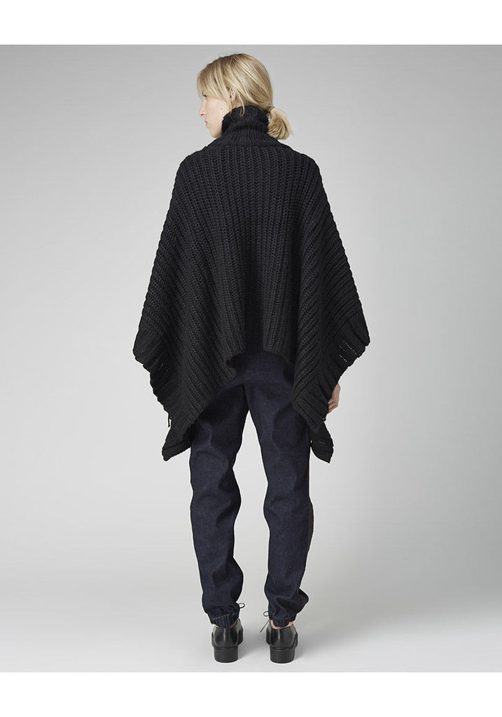 Funnel Neck Poncho