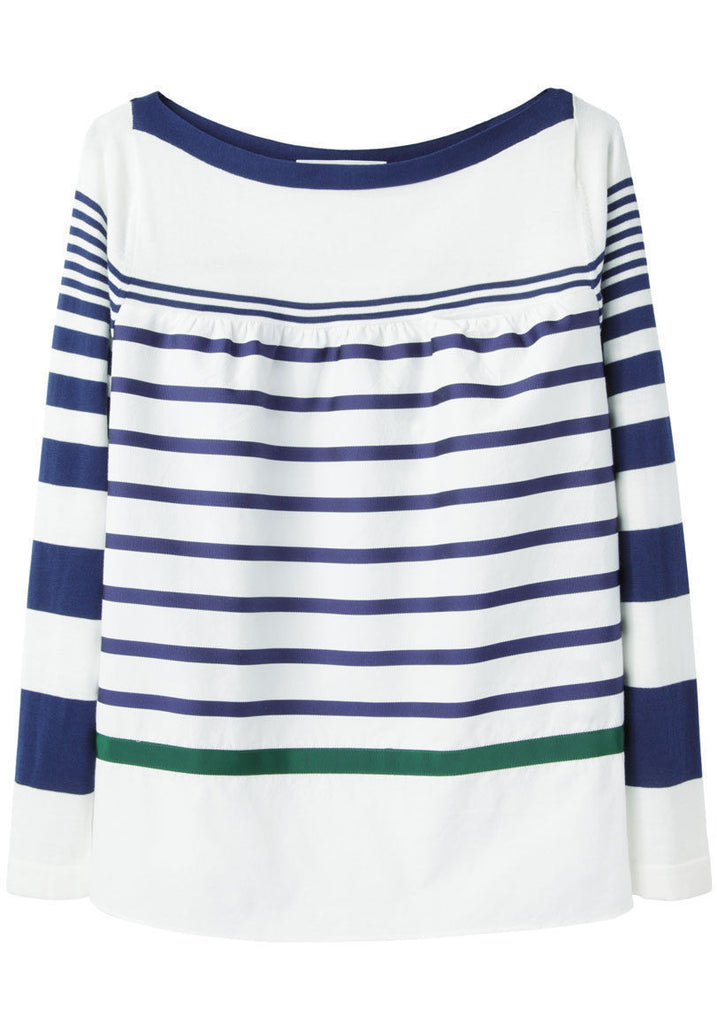 Grosgrain Striped Top