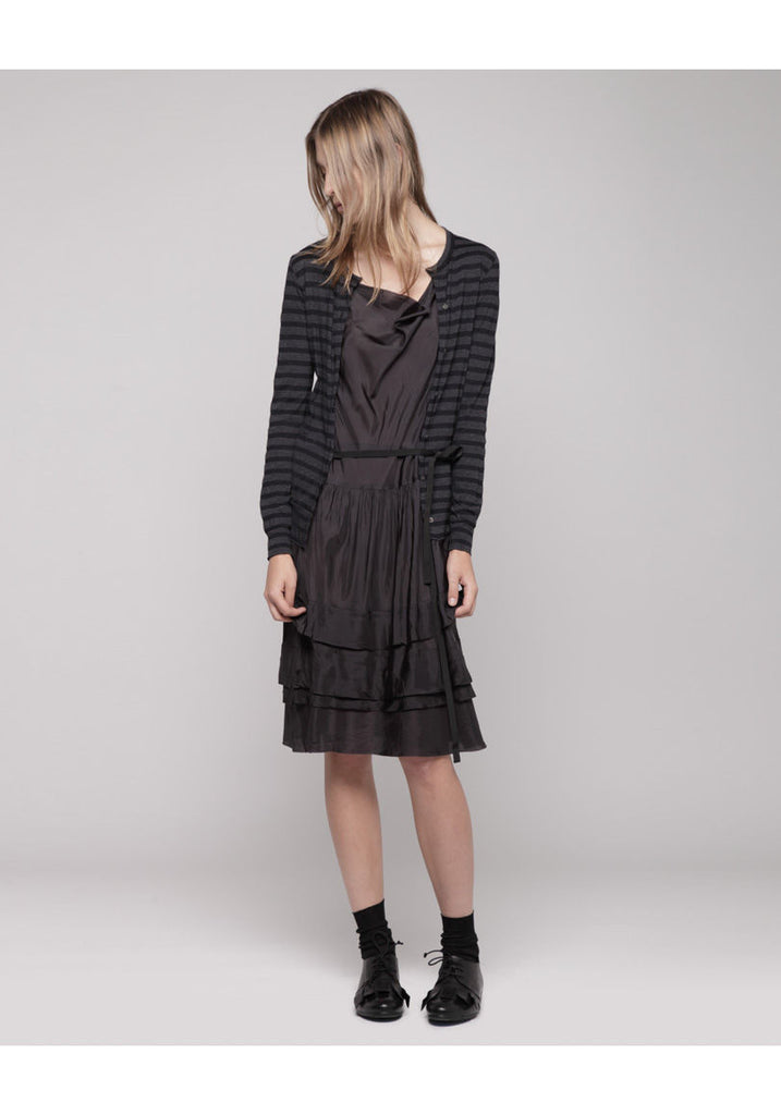 Open Cardigan Dress