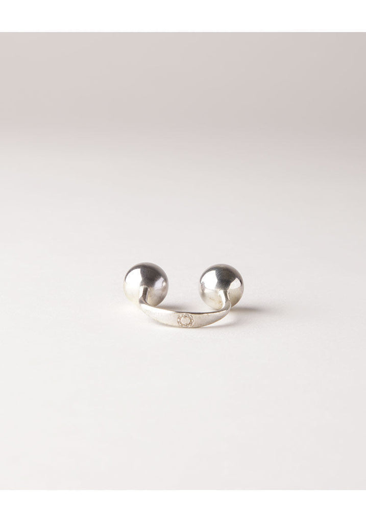 Silver Sling Ring
