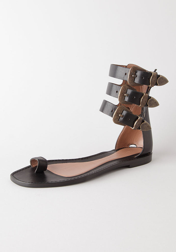 Toe Loop Buckle Sandal