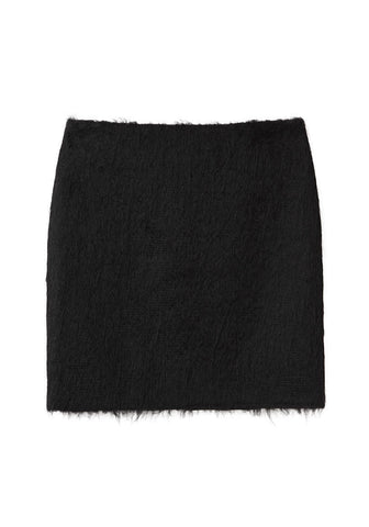 Short Mohair Skirt