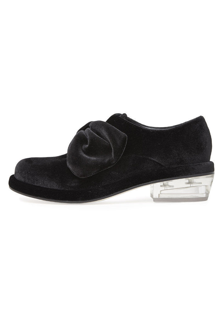Velvet Bow Loafer