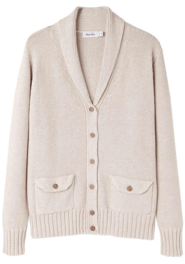 Shawl Collar Cardigan