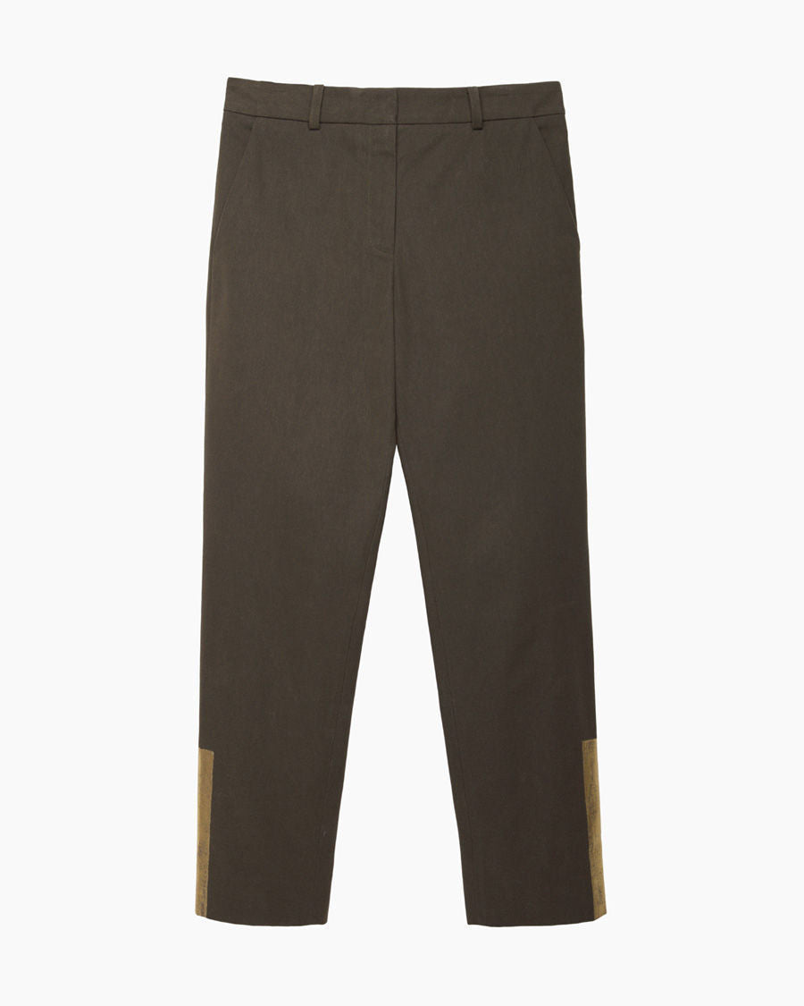 Cotton Canvas Trouser