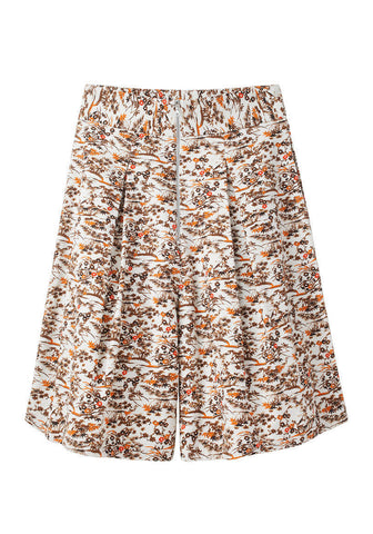 Deep Pleat Skort